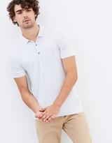 Short Sleeve Knit Polo