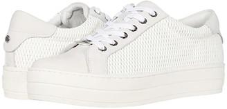 J/Slides Hippie Laser (White Leather) Women's Shoes