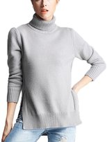 Yxjdress Women's Fashion Turtleneck Sweater Knitted Pullover Sweater