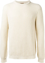 Nuur ribbed detail jumper - men - Cotton/Nylon - 48