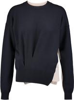Jil Sander Two-tone wool sweater