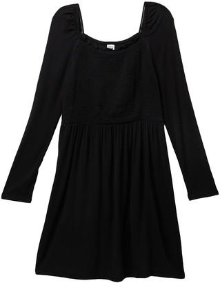 Harper Canyon Square Neck Smock Dress (Big Girls)