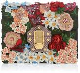 Dolce & Gabbana Brocade Floral Clutch