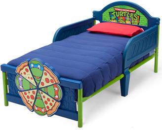 Delta Children Teenage Mutant Ninja Turtles Plastic 3D Toddler Bed