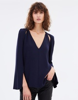 Camilla And Marc Carbo Flare Sleeve Top