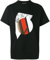 Neil Barrett graphic print T-shirt - men - Cotton - L