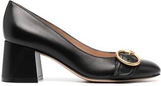 Gianvito Rossi Emma 60mm chunky flared pumps