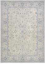 Couristan Sultan Treasures Floral Yazd Framed Floral Rug