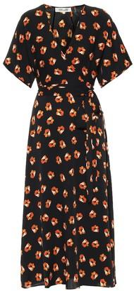 Diane von Furstenberg Kelsey floral georgette dress