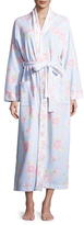 Midnight by Carole Hochman Diamond Quilt Cotton Robe