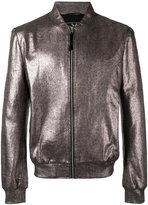 Unconditional foil bomber jacket - men - Cotton - S