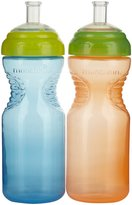 Munchkin Mighty Grip Sports Bottles - Blue/Orange - 10 oz - 2 ct