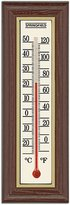 Taylor Precision Products Springfield Wood Grain Indoor Thermometer