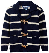 Andy & Evan Striped Cardigan (Toddler & Little Boys)