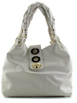 Imoshion Braided Handle Hobo Women Synthetic White Hobo.