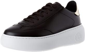 Armani Exchange Women's Oversize Sole Sneakers Low-Top