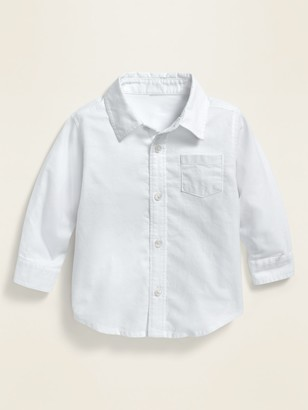 Old Navy Unisex Oxford Pocket Shirt for Baby