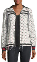 The Upside Witch Mountain Ash Printed Athletic Jacket