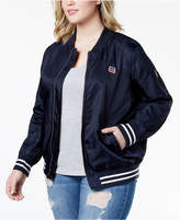 Levi's Plus Size Satin Bomber Jacket