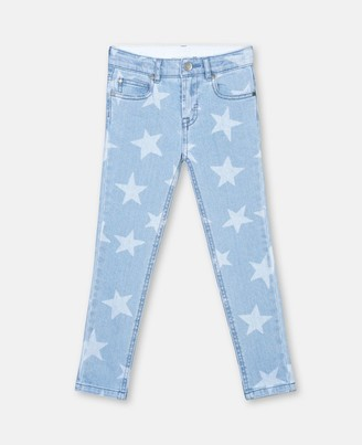 Stella McCartney stars skinny denim trousers