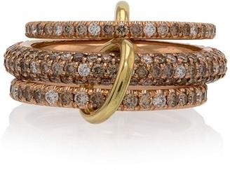 Spinelli Kilcollin Rose Gold Nova Diamond Ring