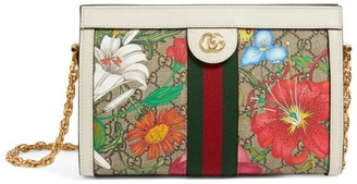 Gucci Small GG Flora Ophidia Shoulder Bag