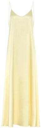 Oseree Satin maxi dress