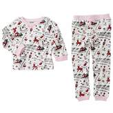 Mud Pie Womens Very Merry Christmas Pajamas (Infant/Toddler)
