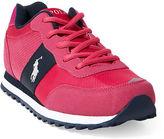 Ralph Lauren Big Kid Zaton Faux-Suede Sneaker