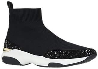 Carvela Link Sock High Top Trainers, Black