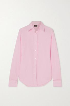 Emma Willis Net Sustain Superior Cotton-poplin Shirt - Pink