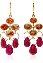 Mallary Marks Ruby 18K Gold Multi-Stone Earrings