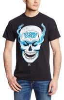 WWE Men's Stone Cold Steve Austin Skull 3 16 Inch Front&Back T-Shirt