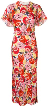 Rebecca Vallance Blume floral-print dress