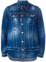 DSQUARED2 shirt insert denim jacket