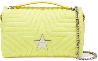 Stella McCartney Stella Star Medium Quilted Shell Shoulder Bag