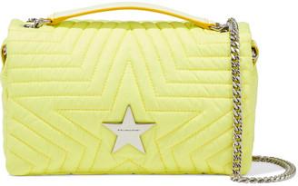 Stella McCartney Stella Star Quilted Shell Shoulder Bag