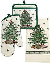 Spode Christmas Tree Kitchen Linens