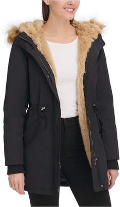 Levi's Arctic Cloth Faux-Fur-Trim Parka