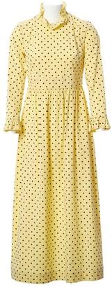Baum und Pferdgarten Yellow Cotton Dresses