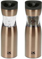 Kalorik Gravity Electric Salt & Pepper Grinder Set