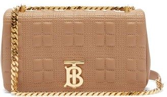 Burberry Lola Small Quilted-leather Shoulder Bag - Beige
