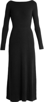 Elizabeth and James Caden tie-back long-sleeved dress