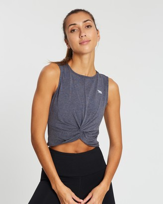 Running Bare Love Me Knot Cropped Workout Tank