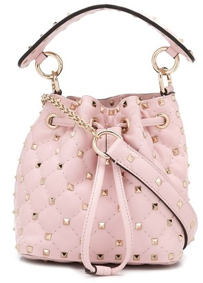 Valentino small Rockstud Spike bucket bag
