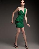 Robert Rodriguez Black Label Cutout Chiffon Dress