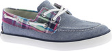 Polo Ralph Lauren Sander Canvas Boat Shoe - Big Kid (Girls')