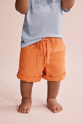 Country Road Drawcord Linen Short
