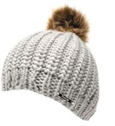 Firetrap Womens Pull On Beanie Hat Snow Winter Warm Accessories