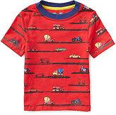 Class Club Adventure Wear by Little Boys 2T-6 Car Print Crewneck Short-Sleeve Tee